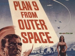 The famously terrible Plan 9 From Outer Space runs at the Hill Center tonight.