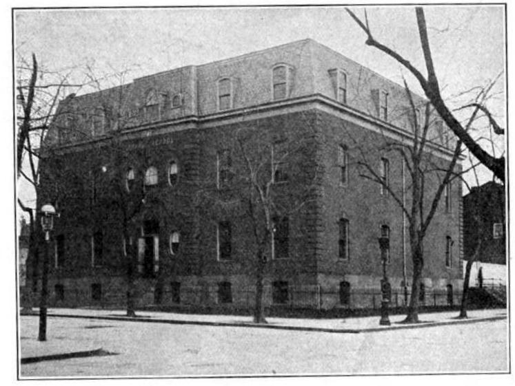 The Lincoln School in 1908 (Google Books)