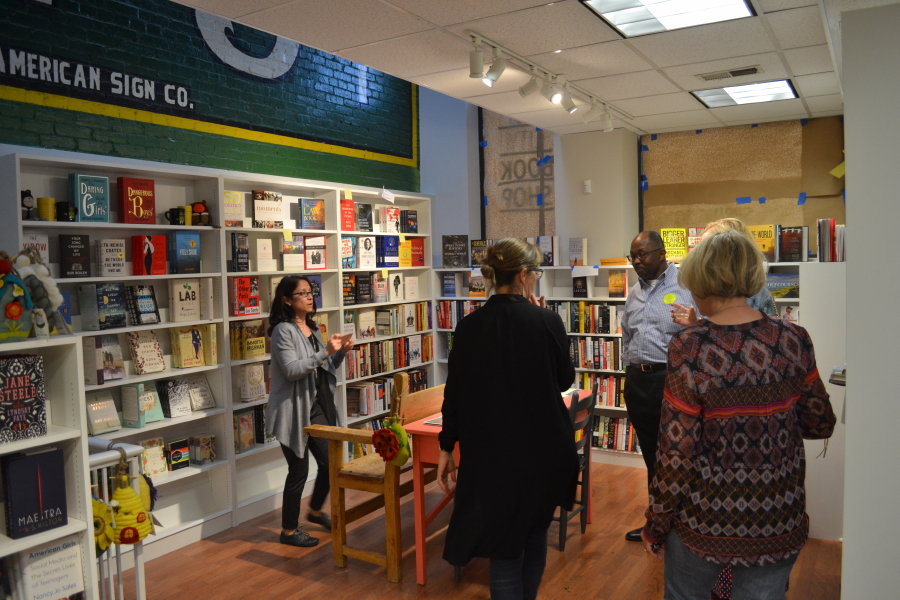 The upstairs at East City Bookshop (RSP)