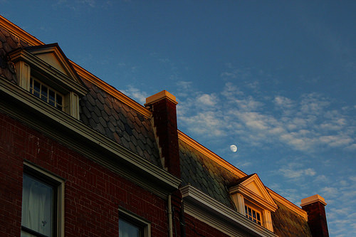 Moon over Hill East