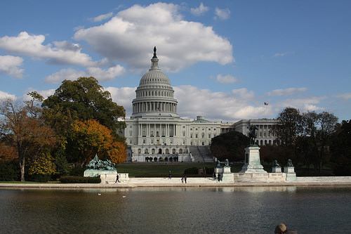 Capitol in Fall