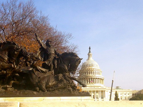 Capitol from Grant Memorial