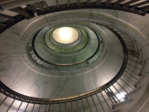 Spiral Staircase in the Supreme Court
