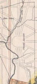 Map of DC in 1790 showing Daniel Carroll's holdings