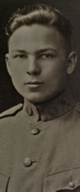 Frank Buckles as a 16 year old soldier.