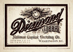 Label used for beer from the National Capital Brewing Co.