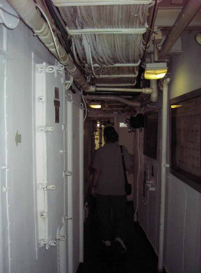 An interior of the Barry in 2008