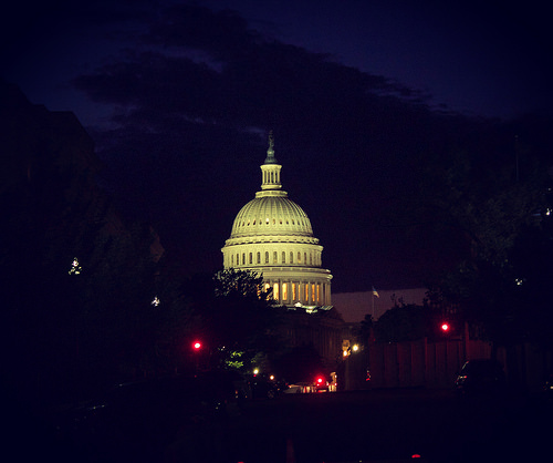 US Capitol Last Night