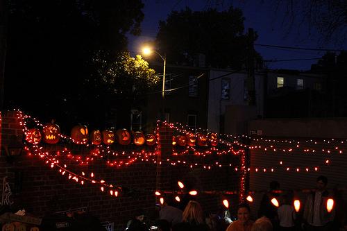 Phyllis' Pumpkin Carving Party!