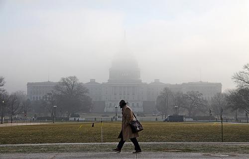 Foggy Morning in DC